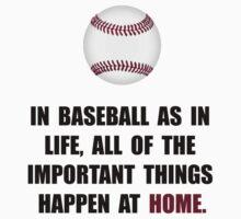 Baseball Home Kids Tee