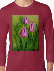 Tulips (2) Long Sleeve T-Shirt