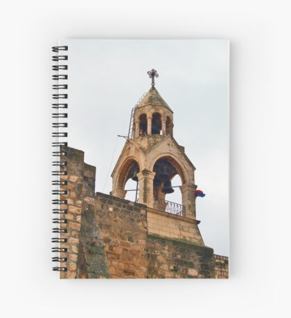 The Church of the Nativity is a basilica located in Bethlehem Spiral Notebook
