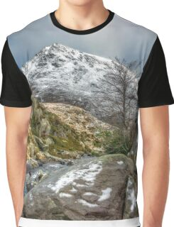 Head of the White Slope Graphic T-Shirt