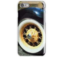 Car Wheel Closeup iPhone Case/Skin
