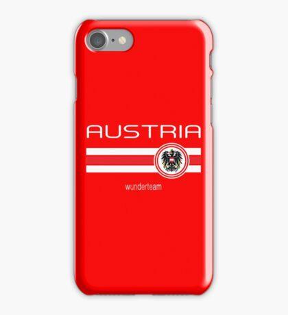 Euro 2016 Football - Austria (Home Red) iPhone Case/Skin