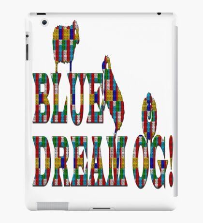 Blue dream og weed  iPad Case/Skin
