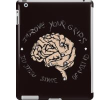 IMPROVE YOUR GRIPS - Dark Colors iPad Case/Skin