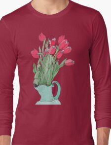 Red Tulips ~  Long Sleeve T-Shirt