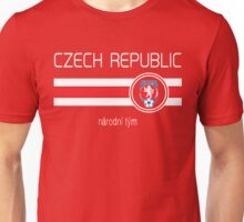 Euro 2016 Football - Czech Republic (Home Red) Unisex T-Shirt