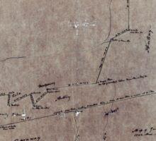 170 Map of Gauly Farm 1722 acres Sticker