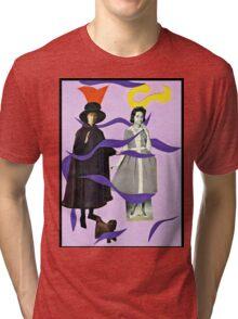 . . .she called him Mister Hat. . . Tri-blend T-Shirt