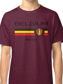 Euro 2016 Football - Belgium (Home Red) Classic T-Shirt