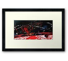 Asuka in space Framed Print