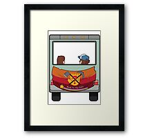 Back To The Fals Framed Print