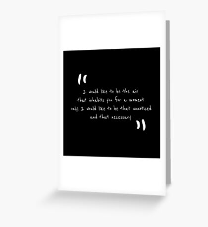 quotes by Margaret Atwood Greeting Card