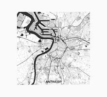 Antwerp Map Gray Unisex T-Shirt