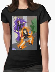 Trauma and Edge 1 Womens Fitted T-Shirt