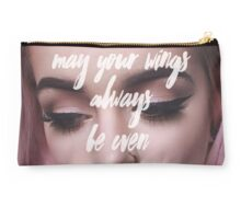 May Your Wings Always Be Even Studio Pouch