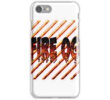 Fire og weed  iPhone Case/Skin