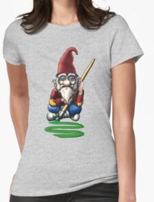 Painting Elf (Gnome) Womens Fitted T-Shirt