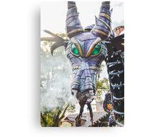 Steampunk Dragon Maleficent Canvas Print