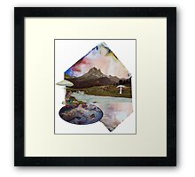 Just Take a Quiet Moment to Reflect Framed Print