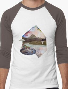 Just Take a Quiet Moment to Reflect Men's Baseball ¾ T-Shirt