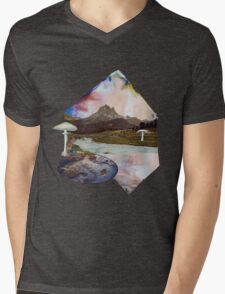 Just Take a Quiet Moment to Reflect Mens V-Neck T-Shirt