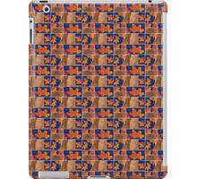 Orange Leaves Pattern Design iPad Case/Skin