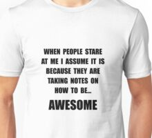 Stare Awesome Unisex T-Shirt