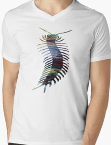 Centipede Mens V-Neck T-Shirt