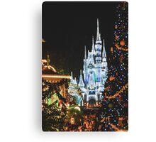 Christmas at the Kingdom Canvas Print