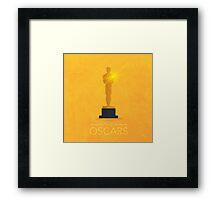 Oscars Award Framed Print