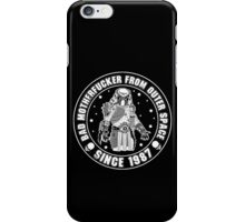 Bad Mofo from Outer Space iPhone Case/Skin
