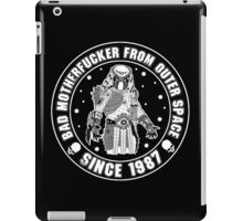 Bad Mofo from Outer Space iPad Case/Skin