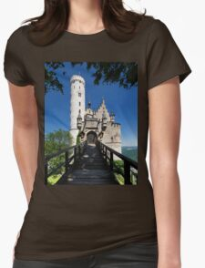 Entrance to Lichtenstein Castle Womens Fitted T-Shirt