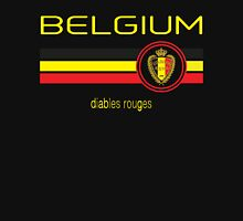Euro 2016 Football - Belgium (Away Black) T-Shirt