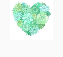 Succulent heart Unisex T-Shirt