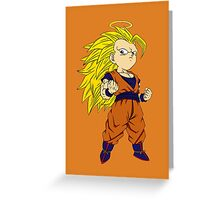 SANGOKU SSJ3 - Coloring  Greeting Card