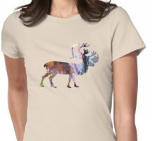 Caribous Womens Fitted T-Shirt