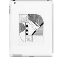 Graphic Composition iPad Case/Skin
