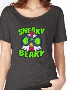 Sneaky Beaky Chicken Women's Relaxed Fit T-Shirt