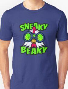 Sneaky Beaky Chicken Unisex T-Shirt