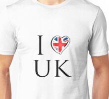 I love UK Unisex T-Shirt
