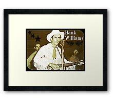 Hank Williams Sr. Designs Framed Print