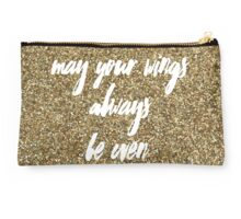 May Your Wings Always Be Even II Studio Pouch