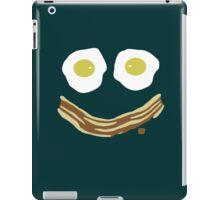 Bacon and eggs always make me smile iPad Case/Skin