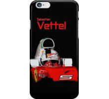 Sebatian Vettel; Ferrari 2016 iPhone Case/Skin