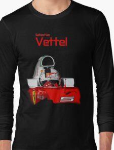 Sebatian Vettel; Ferrari 2016 Long Sleeve T-Shirt