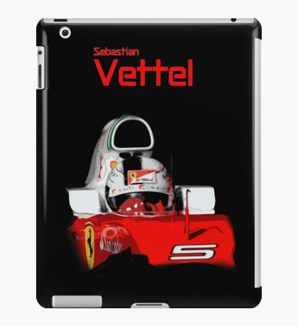 Sebatian Vettel; Ferrari 2016 iPad Case/Skin