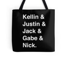 Sleeping With Sirens names Tote Bag