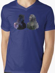 Clexa - The 100 - Face to Face Mens V-Neck T-Shirt