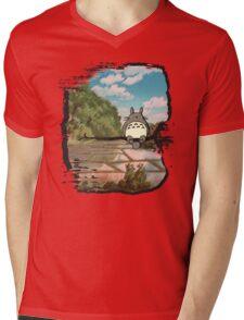Neighbor Mens V-Neck T-Shirt